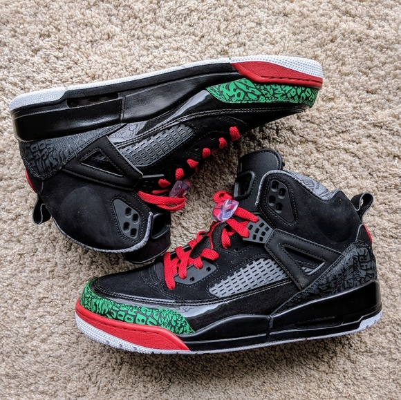 Jordan Other - Nike Air Jordan Spizike OG Black Green Varsity Red 206d74fa7